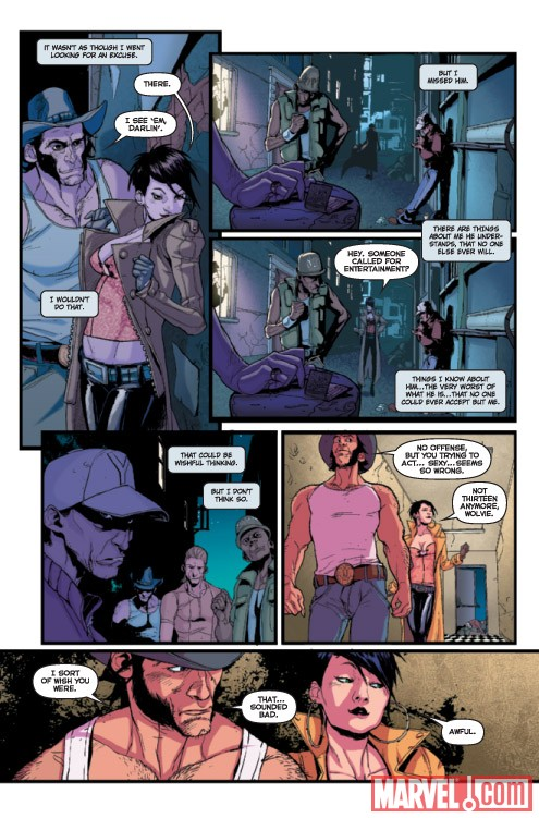 GIRL COMICS #3 preview art by various