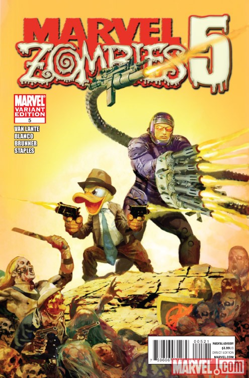 MARVEL ZOMBIES 5 #5 variant cover by Arthur Suydam