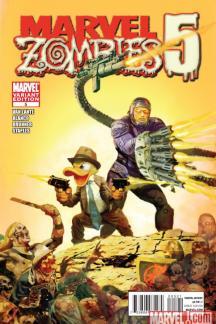 Marvel Zombies 5 #5  (SUYDAM VARIANT)