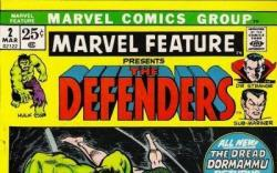 MARVEL FEATURE #2 cover