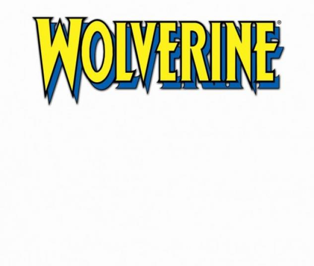 Wolverine (2010) #1 (BLANK COVER VARIANT)