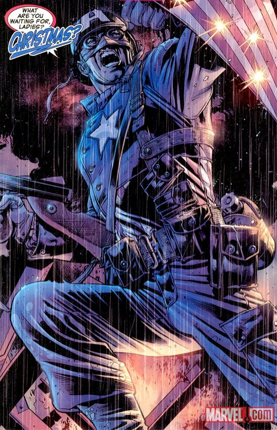 Ultimate Captain America by Bryan Hitch