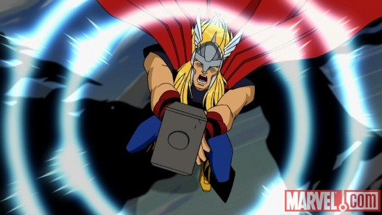 Thor from The Avengers: Earth's Mightiest Heroes!