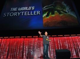 Marvel CCO Joe Quesada at D23 2011