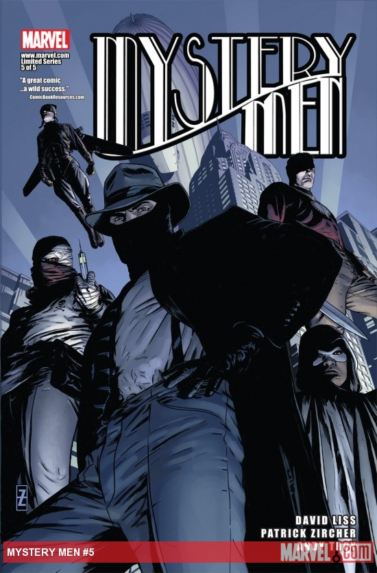 Mystery Men (2011) #5