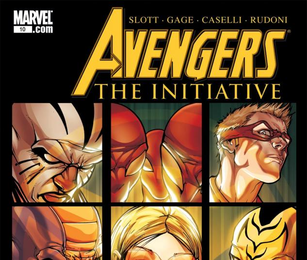 Avengers: The Initiative (2007) #10