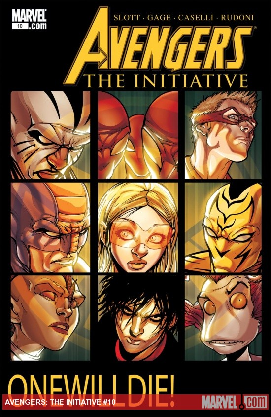 Avengers: The Initiative (2007) #10