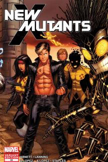 New Mutants (2010) #33 (Keown Variant)
