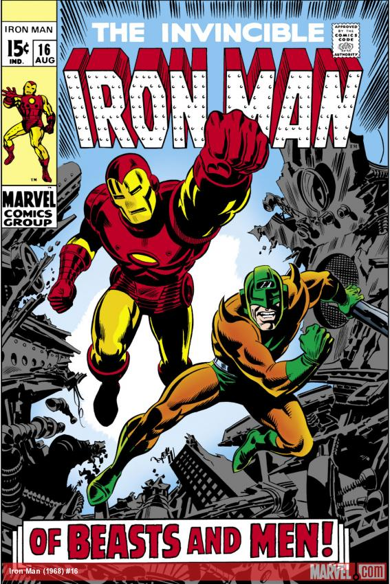Iron Man (1986) #16