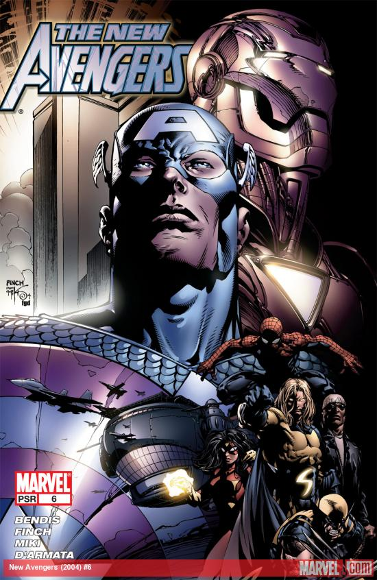 New Avengers (2004) #6