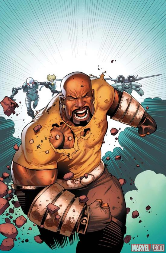 Luke Cage by Kev Walker