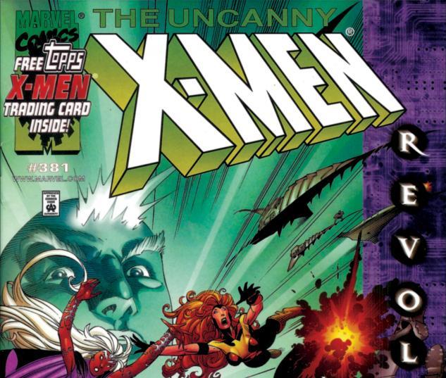 Uncanny X-Men (1963) #381 Cover