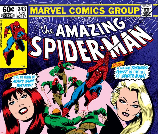 Amazing Spider-Man (1963) #243 Cover