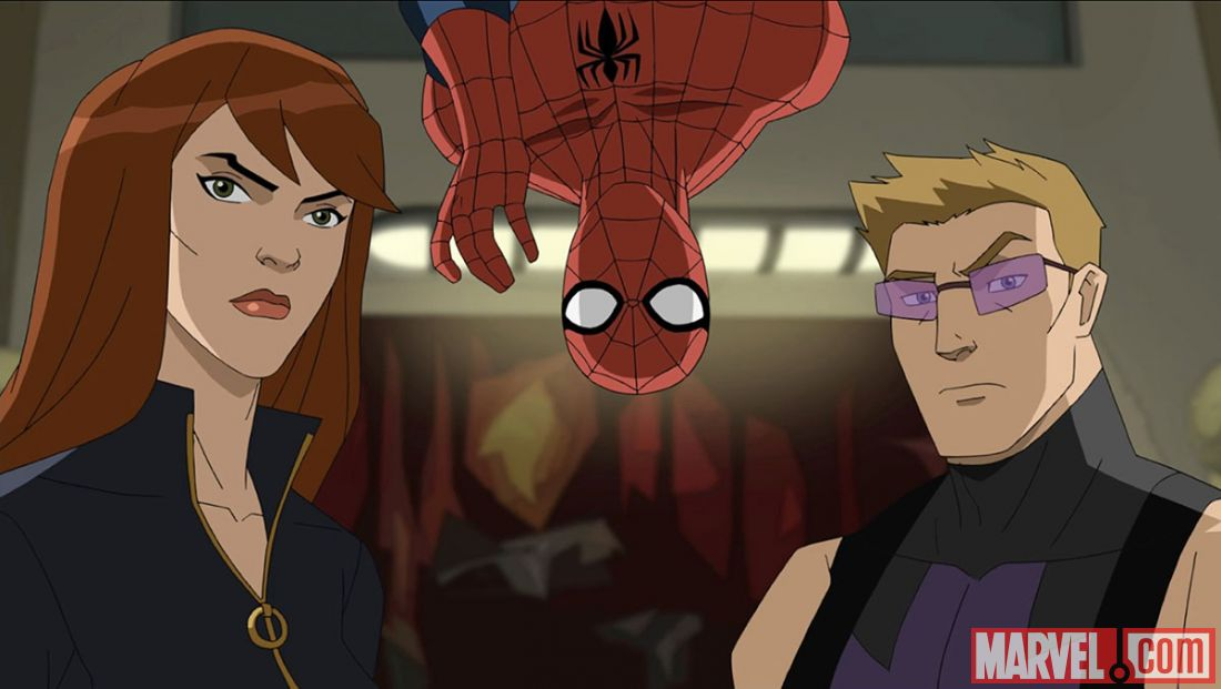 Ultimate Spider Man Black Widow Black Widow  Spider-Man