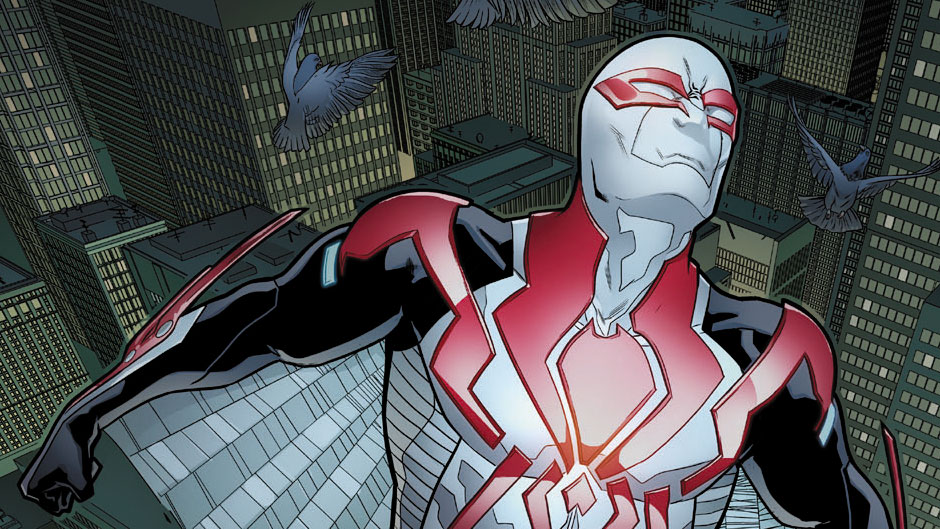 Spider-Man 2099 #2 preview art by Will Sliney