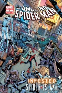AMAZING SPIDER-MAN: INFESTED (2011) One-Shot Cover