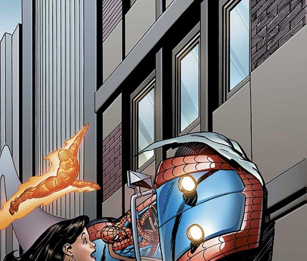 SPIDER-MAN/HUMAN TORCH (2007) #3 COVER