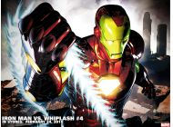 Iron Man Vs. Whiplash (2009) #4 Wallpaper