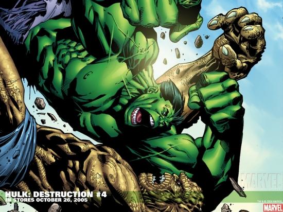 Hulk: Destruction (2005) #4 Wallpaper