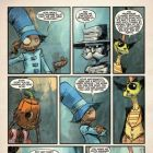 THE MARVELOUS LAND OF OZ #7 preview art by Skottie Young