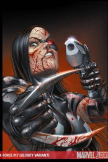 X-Force (2008) #17 (BLOODY VARIANT)