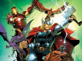 Avengers vs. Pet Avengers #4 cover by Ig Guara