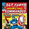 Image Featuring Captain America, Dum Dum Dugan, Nick Fury