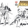 New Avengers #1 cover by Joe Staton