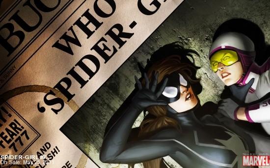 Spider-Girl #7 Wallpaper