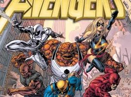 New Avengers (2010) #17 cover