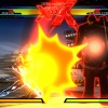 "Screenshot of Iron Fist vs. Nemesis in ""Ultimate Marvel vs. Capcom 3"""