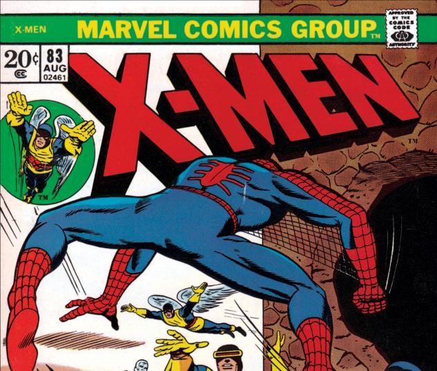 Uncanny X-Men #83 Cover