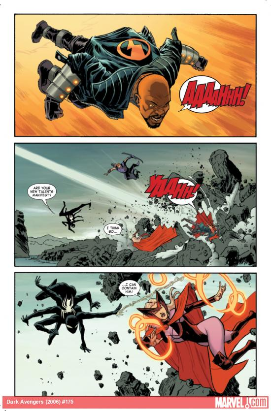 Dark Avengers #175 preview art by Declan Shalvey