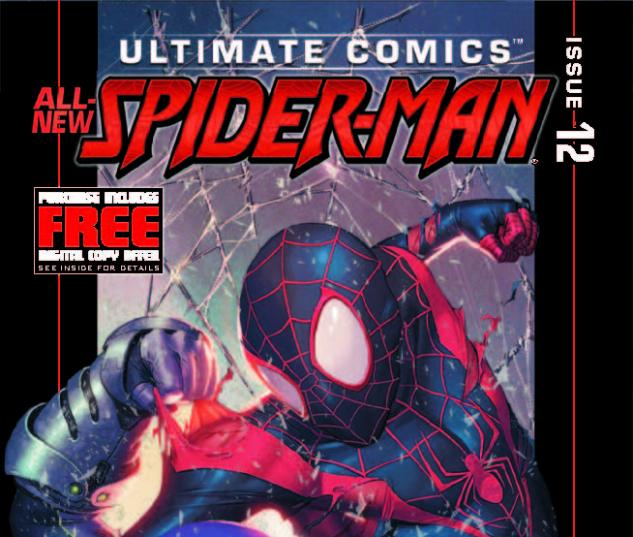ULTIMATE COMICS SPIDER-MAN 12 (WITH DIGITAL CODE)