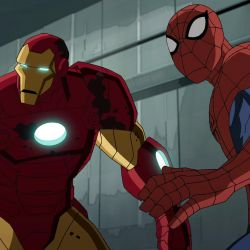 Spider-Man and Iron Man team up in Marvel's Ultimate Spider-Man