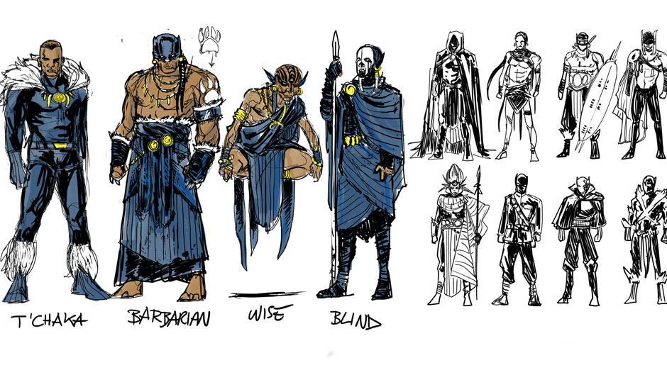 Black Panther Marvel Costume
