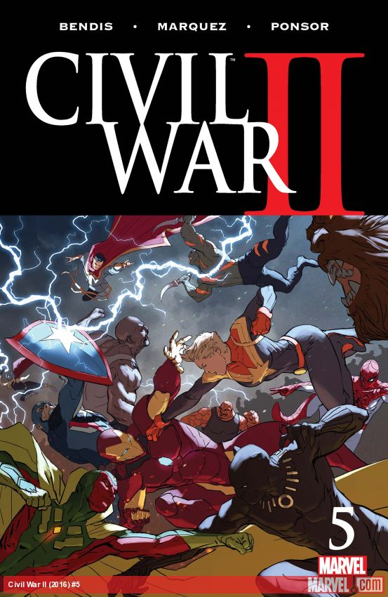 Civil War II (2016) #5