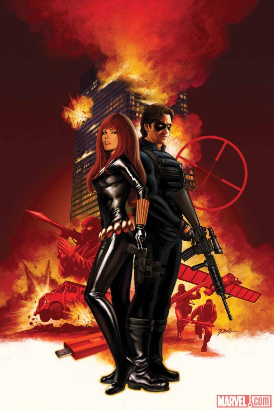 Winter Soldier #7 cover art by Steve Epting