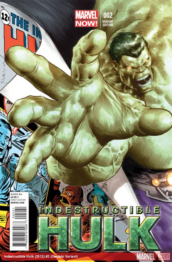 Indestructible Hulk #2 Deodato Variant