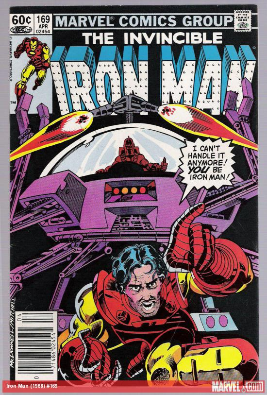 Iron Man #169