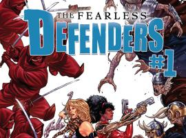 FEARLESS DEFENDERS 1 2ND PRINTING VARIANT (NOW)