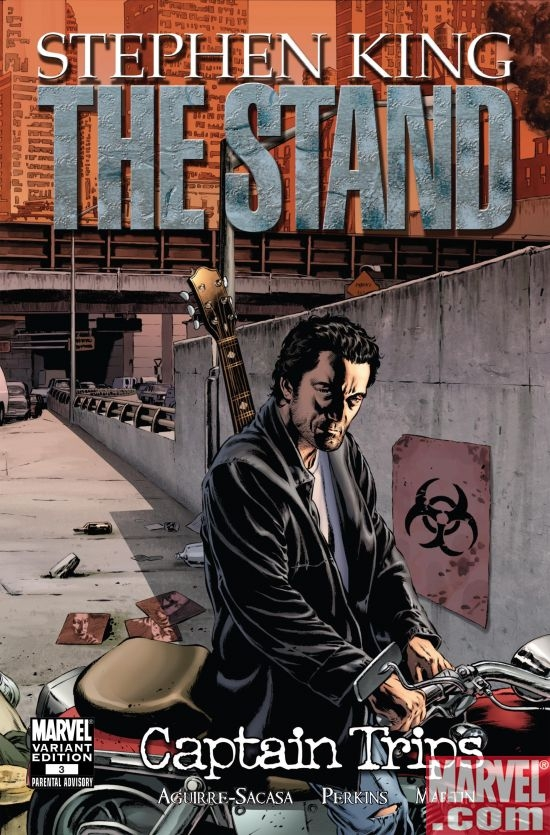 THE STAND: CAPTAIN TRIPS #3 VARIANT