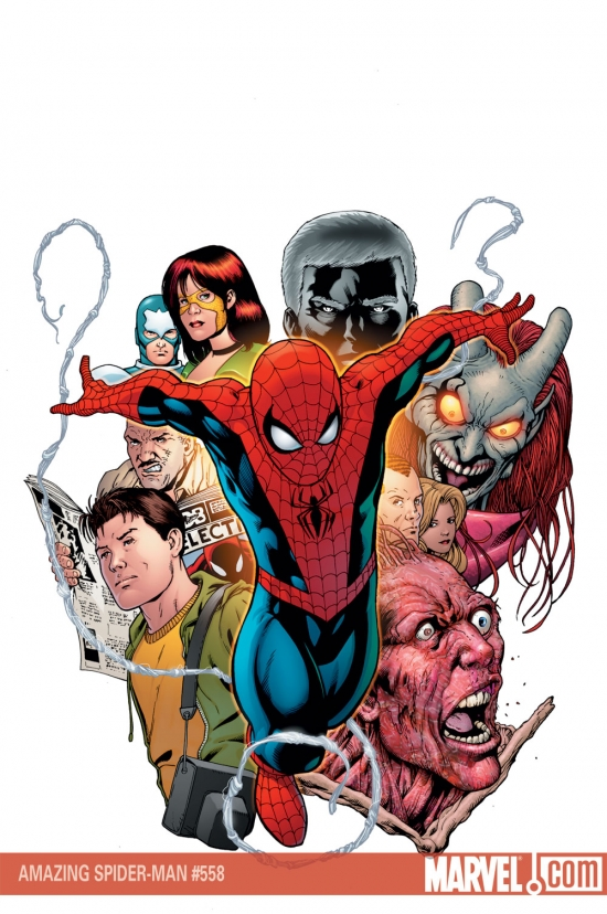 AMAZING SPIDER-MAN #558