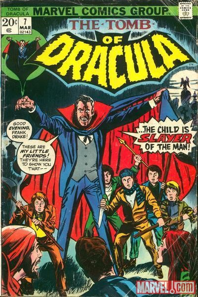 TOMB OF DRACULA #7 cover