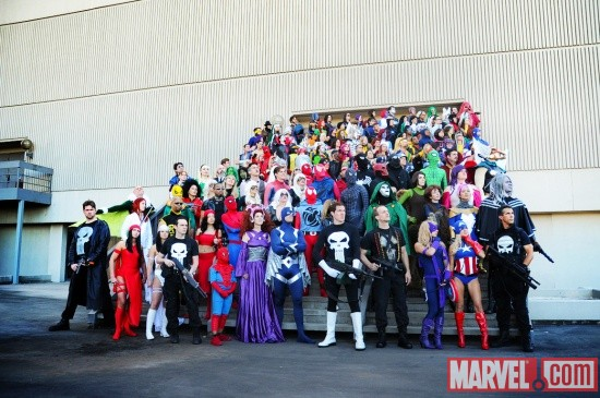 Dragon*Con 2010 Marvel Gathering