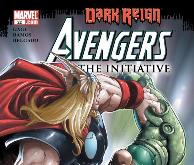 Avengers: The Initiative (2007) #22