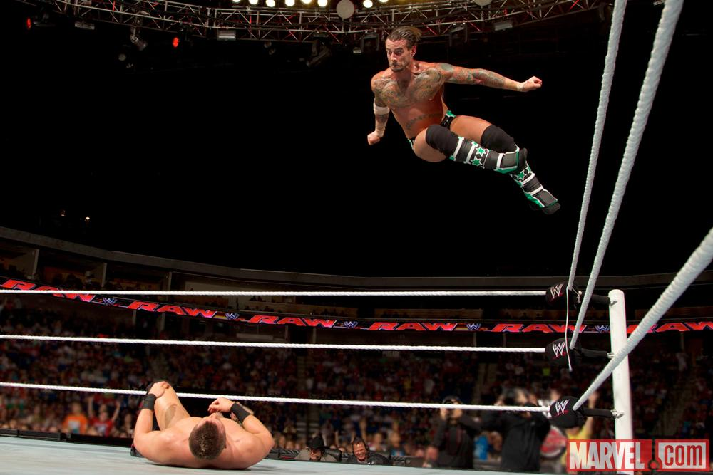 CM Punk photo by WWE