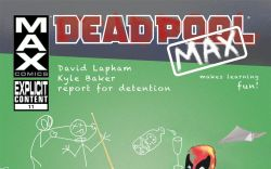 Deadpool Max #11 Cover