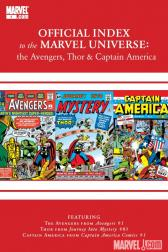 Avengers, Thor &amp; Captain America: Official Index to the Marvel Universe #3 