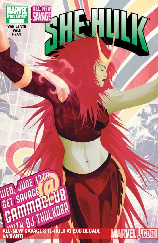 ALL-NEW SAVAGE SHE-HULK #3 (90S DECADE VARIANT)